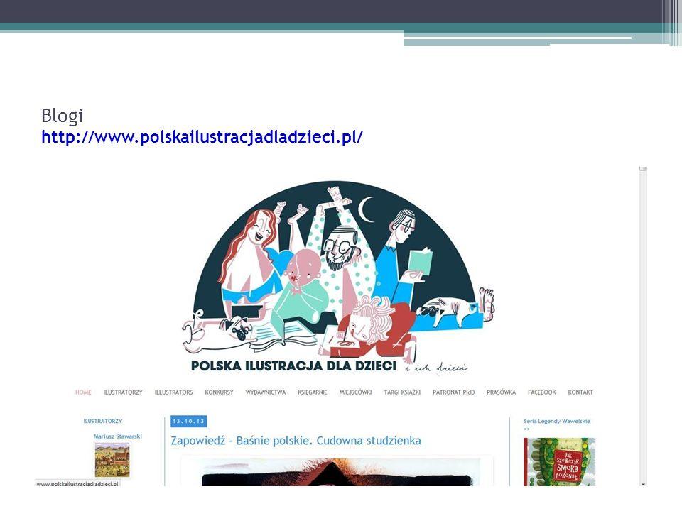 Blogi http://www.polskailustracjadladzieci.pl/