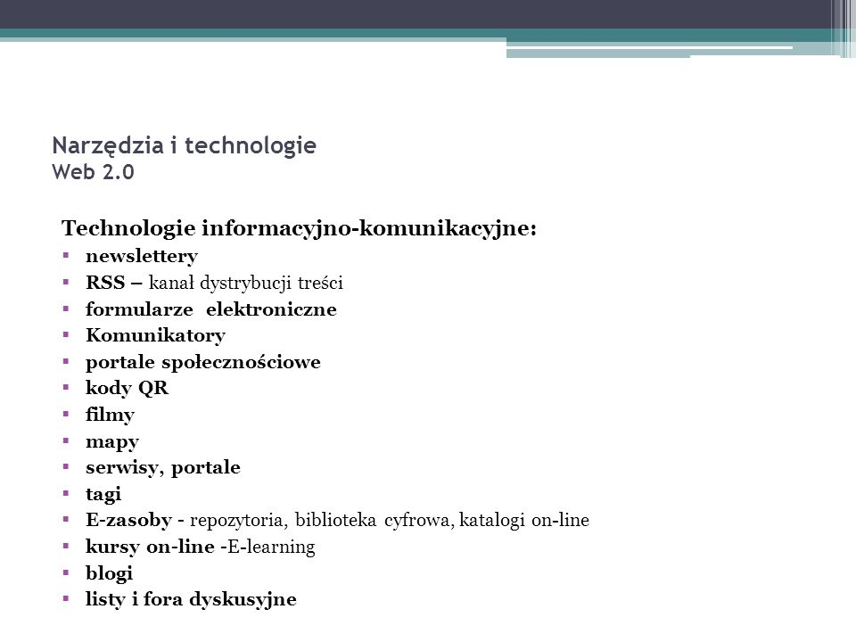 kursy on-line http://moodle.wmbp.edu.pl/