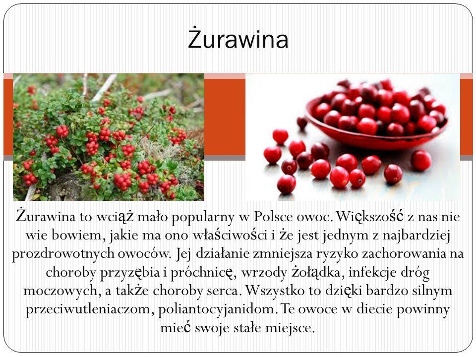Ż urawina to wci ąż mało popularny w Polsce owoc.