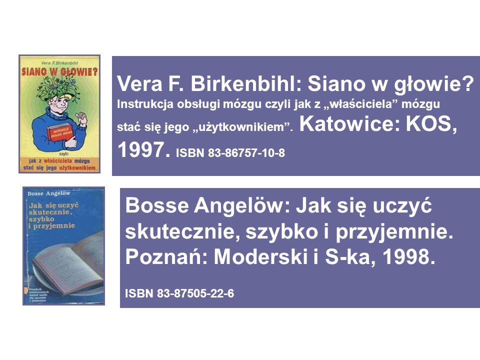 Bosse Angelöw: Jak się uczyć skutecznie, szybko i przyjemnie.