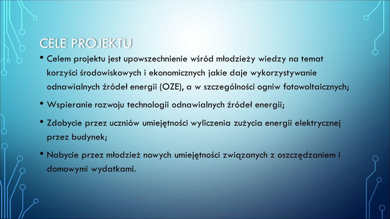 ADRESACI I ZASIĘG Projekt ogólnopolski, skierowany do szkół gimnazjalnych i ponadgimnazjalnych, zarządzany poprzez portal internetowy będący bazą wiedzy, jak również platformą komunikacji z uczestnikami.