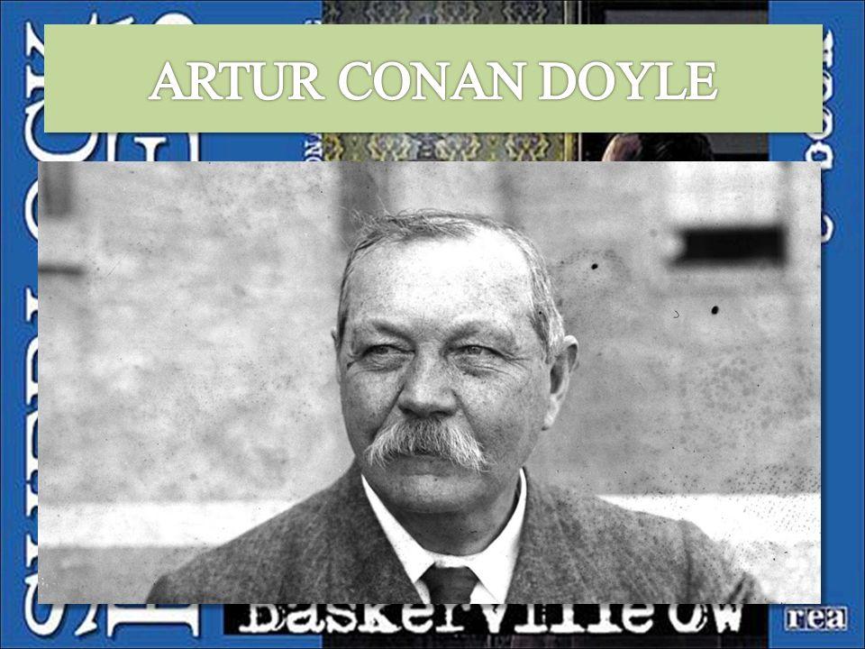 Arthur Conan Doyle urodził się w 1859 roku w Edynburgu.