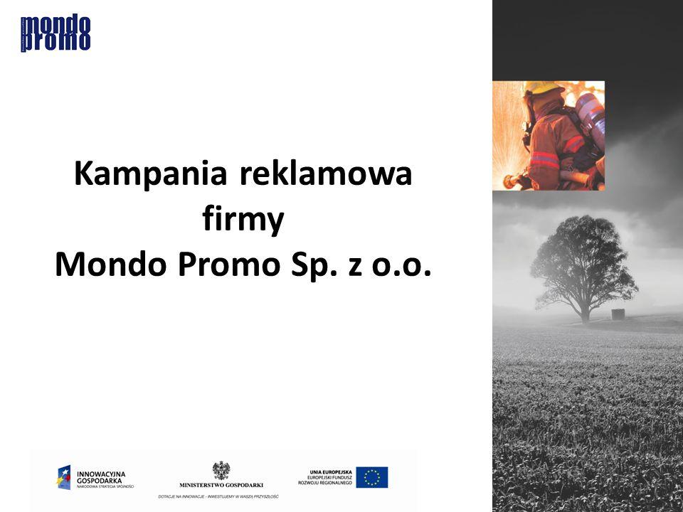 Kampania reklamowa firmy Mondo Promo Sp. z o.o.