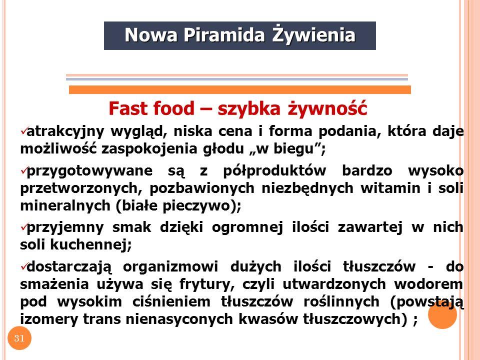 32 10 zasad prawidłowego żywienia (wg prof.W.B. Szostaka i prof.