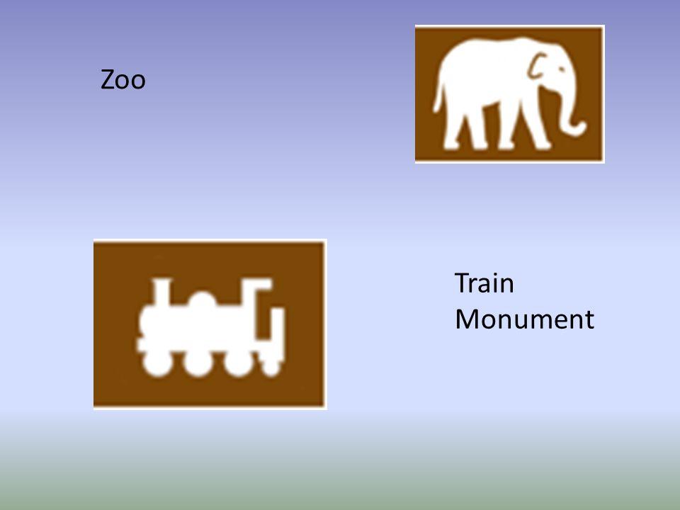 Zoo Train Monument