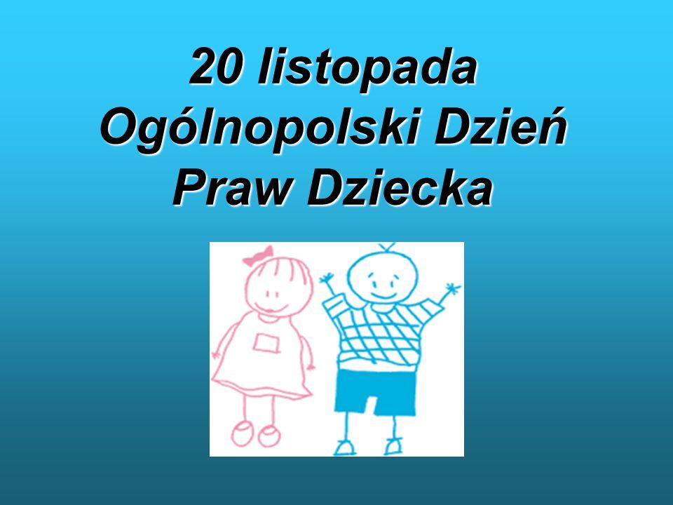 Konwencja Praw Dziecka Oczami Gimnazjalistów