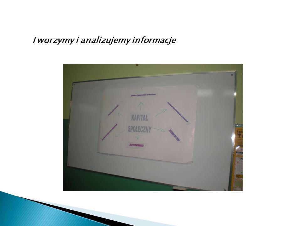 Tworzymy i analizujemy informacje