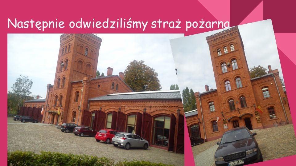 Przedostatnim punktem naszej wycieczki był punkt widokowy na budowę Łodzi fabrycznej