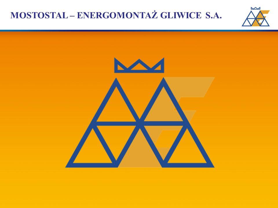 FIRMA Mostostal-Energomontaż Gliwice S.A.z siedzibą w Gliwicach ul.