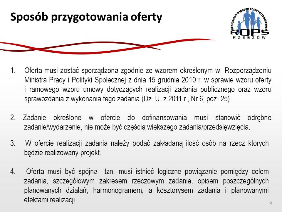 Rozliczenie zadania  Zleceniobiorca jest zobowiązany do sporządzenia sprawozdania z wykonania zadania publicznego w terminie określonym w umowie.