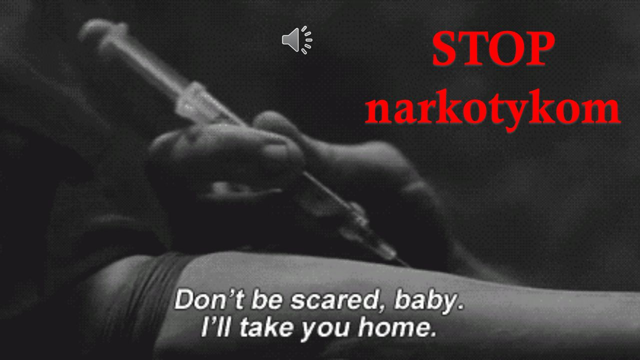 STOP narkotykom