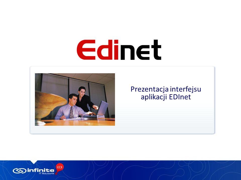 Prezentacja interfejsu aplikacji EDInet