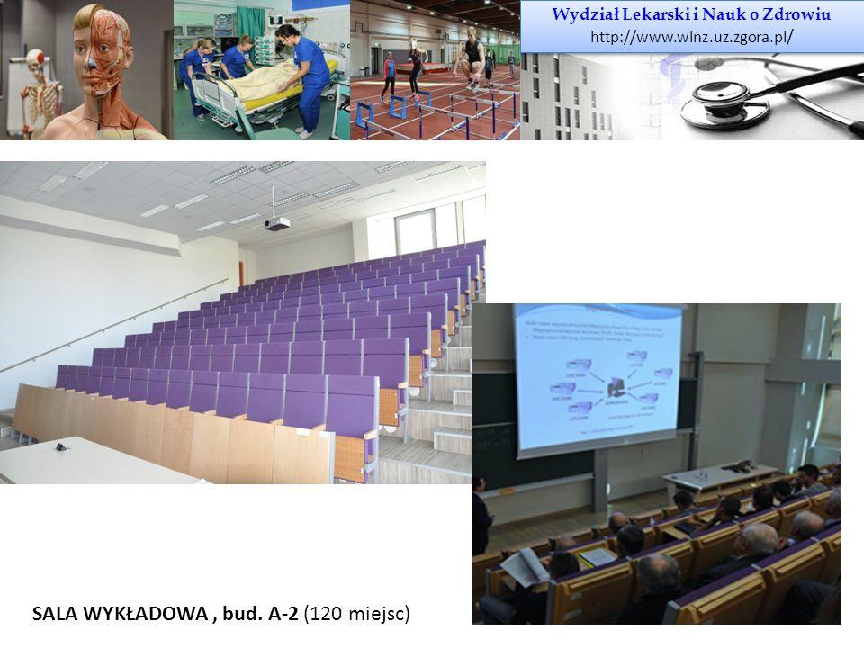 Wydział Lekarski i Nauk o Zdrowiu http://www.wlnz.uz.zgora.pl / Wydział Lekarski i Nauk o Zdrowiu http://www.wlnz.uz.zgora.pl / SALA WYKŁADOWA, bud. A
