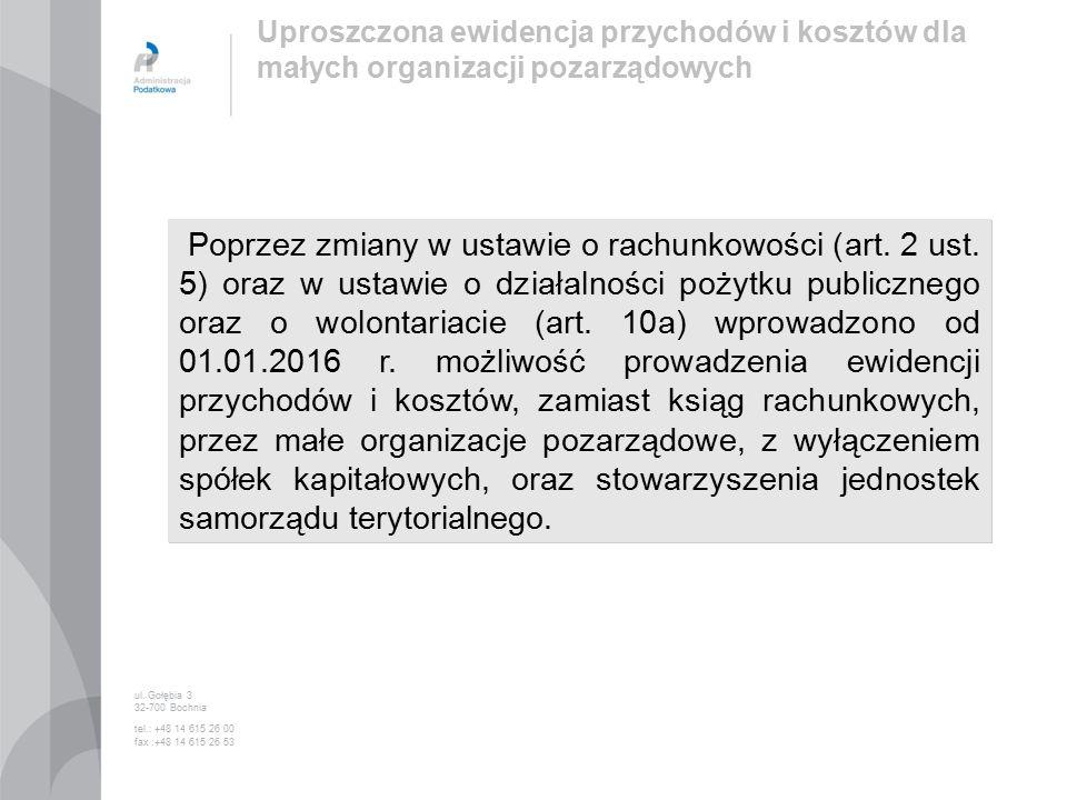 Poprzez zmiany w ustawie o rachunkowości (art. 2 ust.
