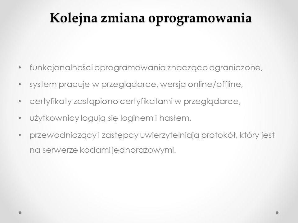Użytkownicy po wprowadzeniu użytkowników do https://prtest2015.kbw.gov.pl/ lub https://szkolwow.kbw.gov.pl będą oni kasowani (nadpisywani) użytkownikami z https://wow.kbw.gov.pl/ 22.04.2015 r.