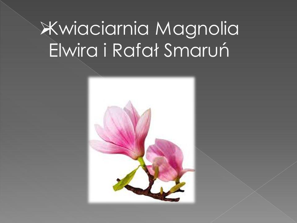  Kwiaciarnia Magnolia Elwira i Rafał Smaruń