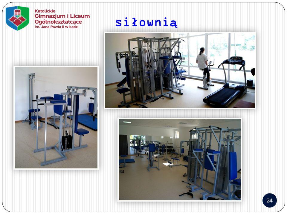 siłownią 24