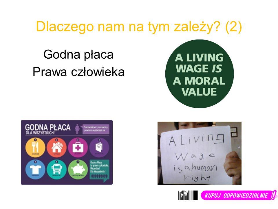 Dlaczego nam na tym zależy? (2) Godna płaca Prawa człowieka