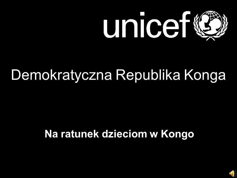 Demokratyczna Republika Konga Na ratunek dzieciom w Kongo