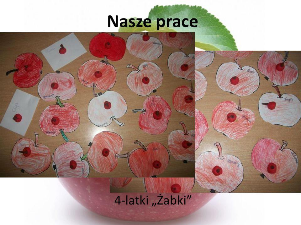 "Nasze prace 4-latki ""Żabki"