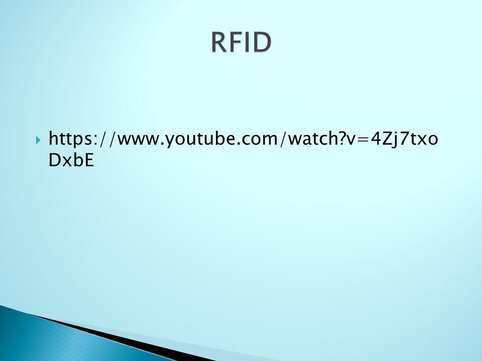  RFID wykorzystywane jest w celu śledzenia aktywów przedsiębiorstwa.