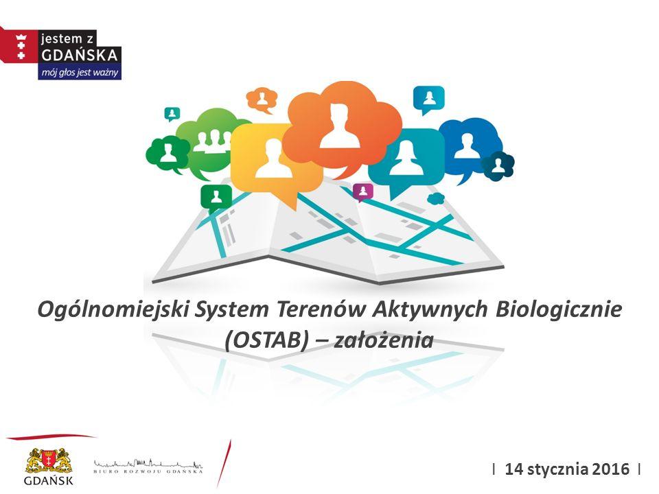 Ogólnomiejski System Terenów Aktywnych Biologicznie (OSTAB) – założenia I 14 stycznia 2016 I