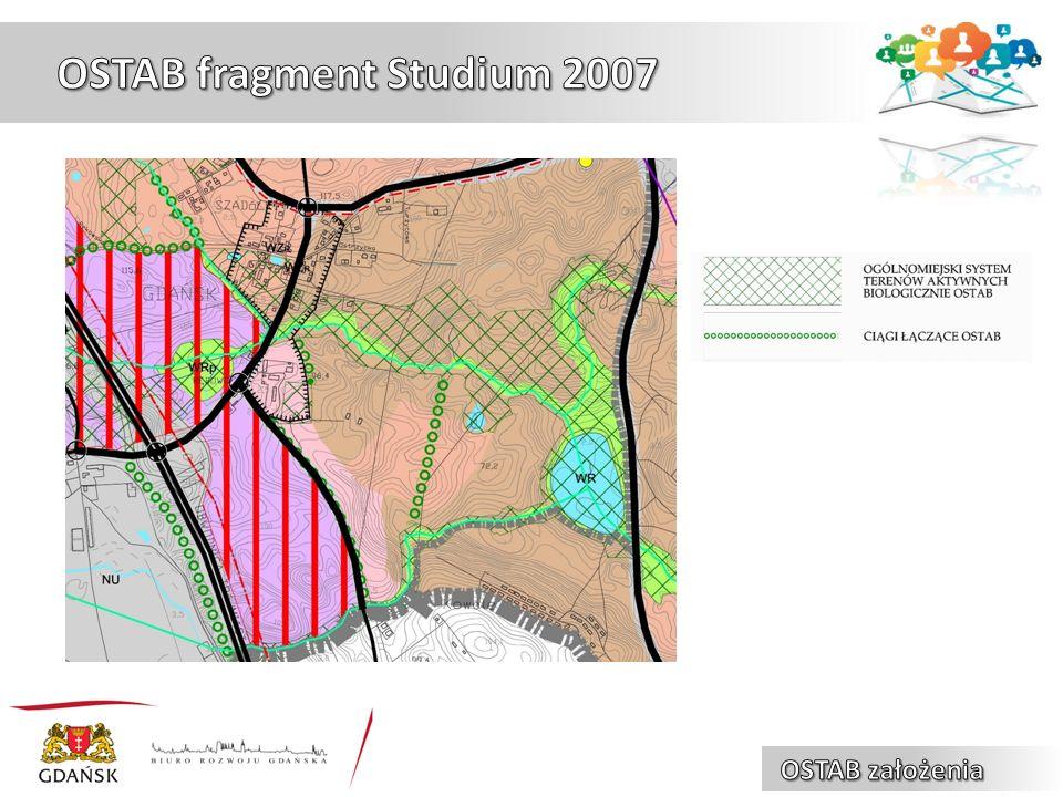 Zasady zagospodarowania w obrębie OSTAB:  wykluczenie możliwości lokalizowania w obrębie systemu funkcji o silnym oddziaływaniu na środowisko (przemysł, intensywna zabudowa mieszkaniowa, wysokowydajne rolnictwo),  podtrzymywanie (w miarę możliwości) obecnego użytkowania terenów, zgodnego z pełnionymi przez system funkcjami ekologicznymi, jak np.