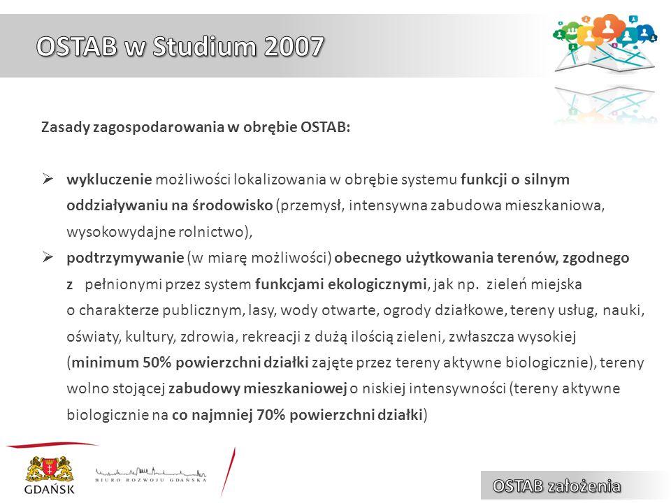 elementy osnowy OSTAB płaty strukturalne OSTAB ciągi łączące OSTAB ? ?