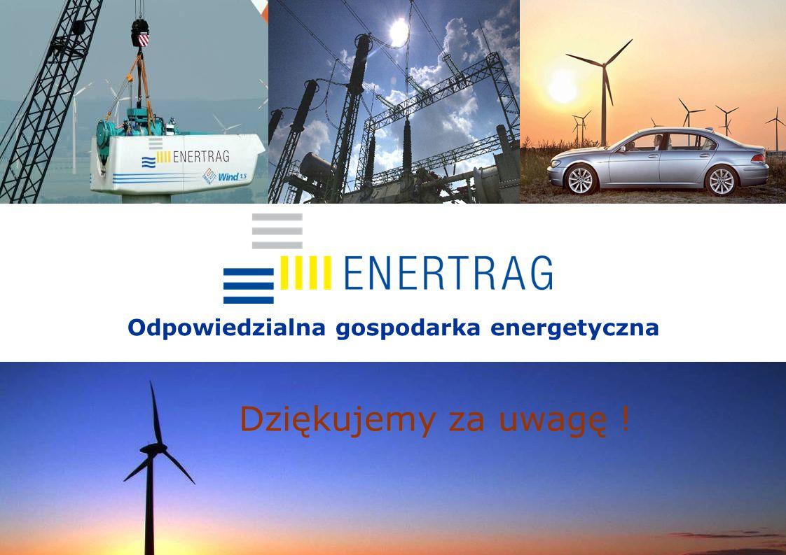 13.08.200918 Odpowiedzialna gospodarka energetyczna Dziękujemy za uwagę !