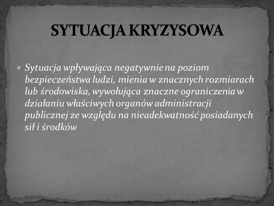 """Jeżeli w sytuacji kryzysowej użycie innych sił i środków jest niemożliwe lub może okazać się niewystarczające, o ile inne przepisy nie stanowią inaczej, Minister Obrony Narodowej, na wniosek wojewody, może przekazać do jego dyspozycji pododdziały lub oddziały Sił Zbrojnych Rzeczypospolitej Polskiej, zwane dalej """"oddziałami Sił Zbrojnych , wraz ze skierowaniem ich do wykonywania zadań z zakresu zarządzania kryzysowego."""