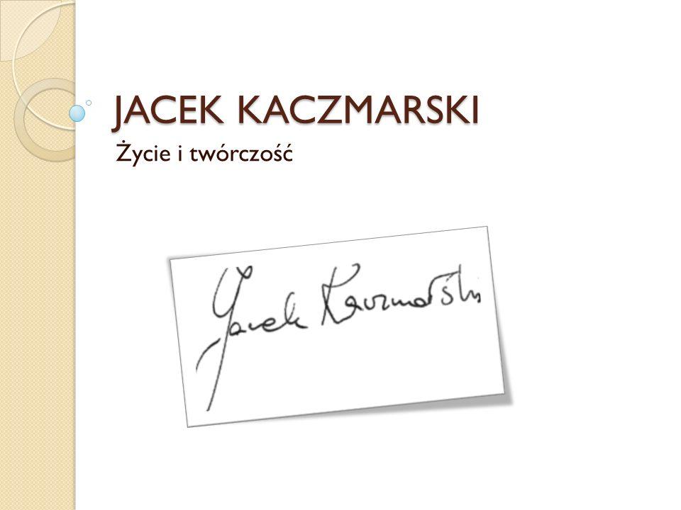 Jacek Kaczmarski… Pieśniarz, poeta, autor wierszy i tekstów piosenek, a także prozaik.