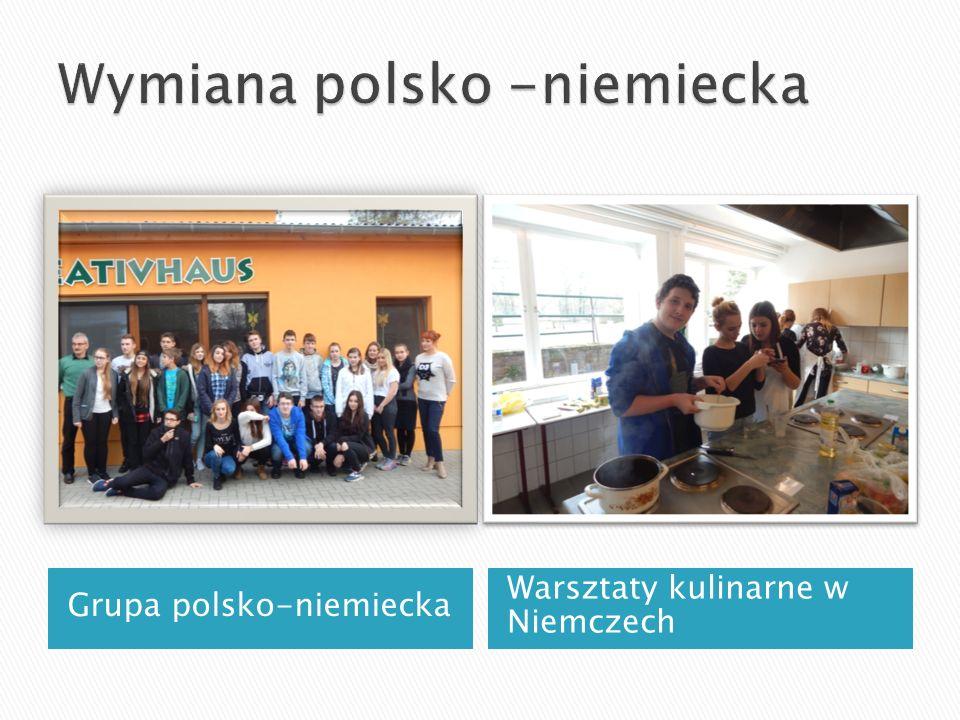 Grupa polsko-niemiecka Warsztaty kulinarne w Niemczech
