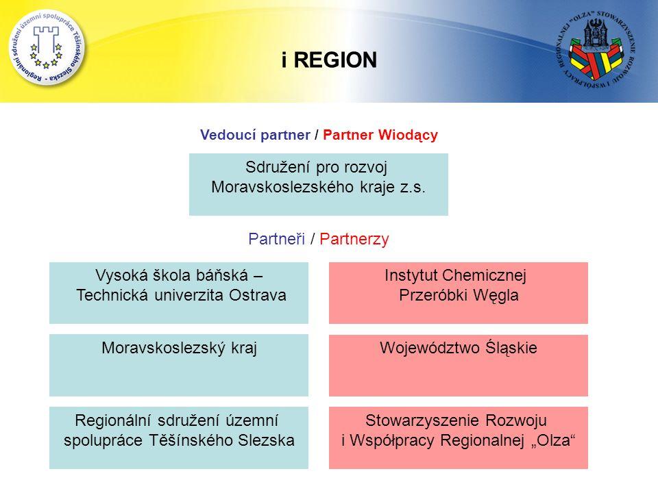 i REGION Sdružení pro rozvoj Moravskoslezského kraje z.s.