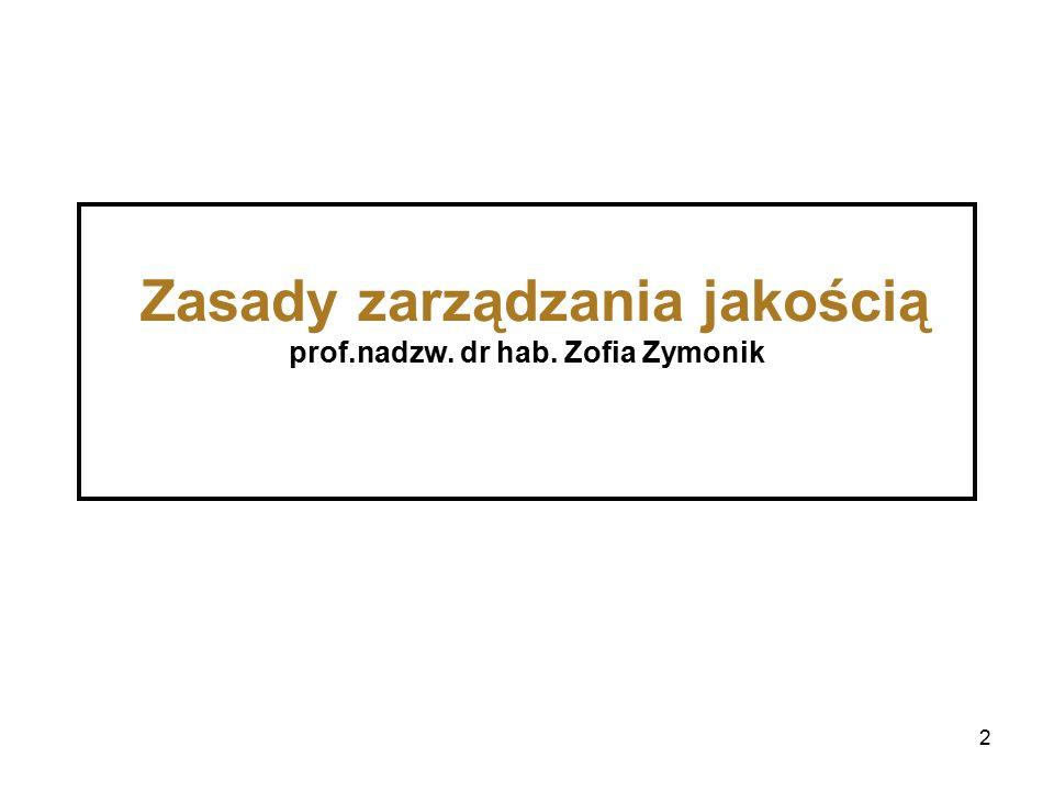 53 Uśredniony procent punktów w poszczególnych kryteriach przyznany wszystkim 196 finalistom PNJ w latach 1995 – 2015 (wyniki badań przeprowadzonych przez sędziego Polskiej Nagrody Jakości dr.