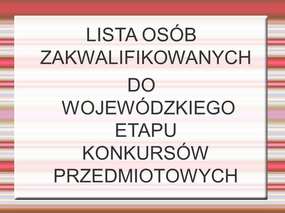 KL.3A - LIDIA BRZUSTEWICZ KL. 3C - PAWEŁ KUCHARSKI KARINA WASILEWSKA DOMINIKA PĘCHERSKA KL.