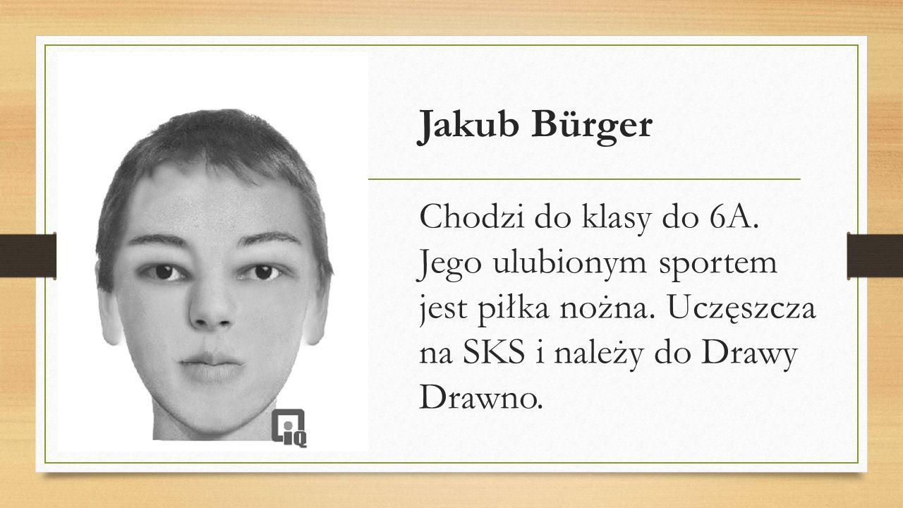 Jakub Andruszkiewicz Jest uczniem klasy 6A.