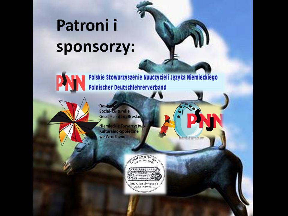 prezentacja: Zofia Molińska Patroni i sponsorzy: