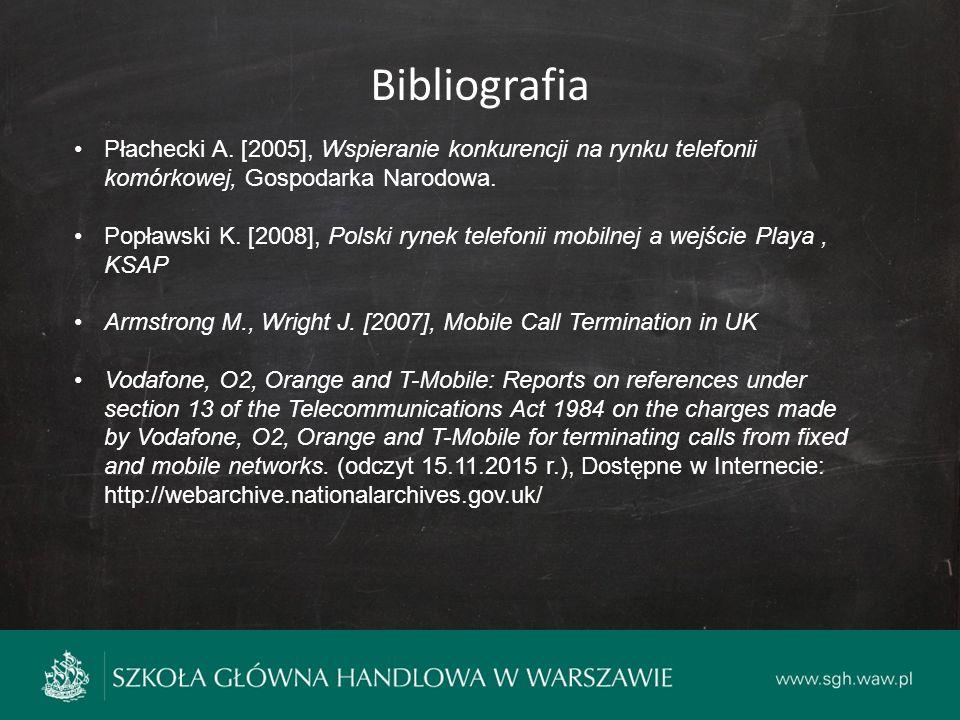 Bibliografia Płachecki A.