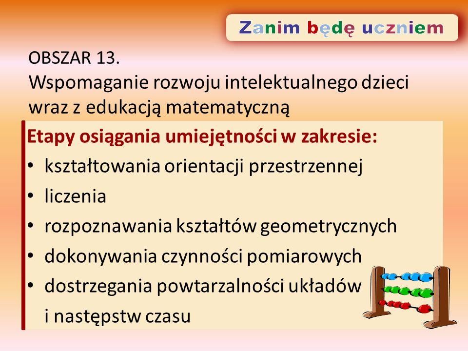 OBSZAR 13.