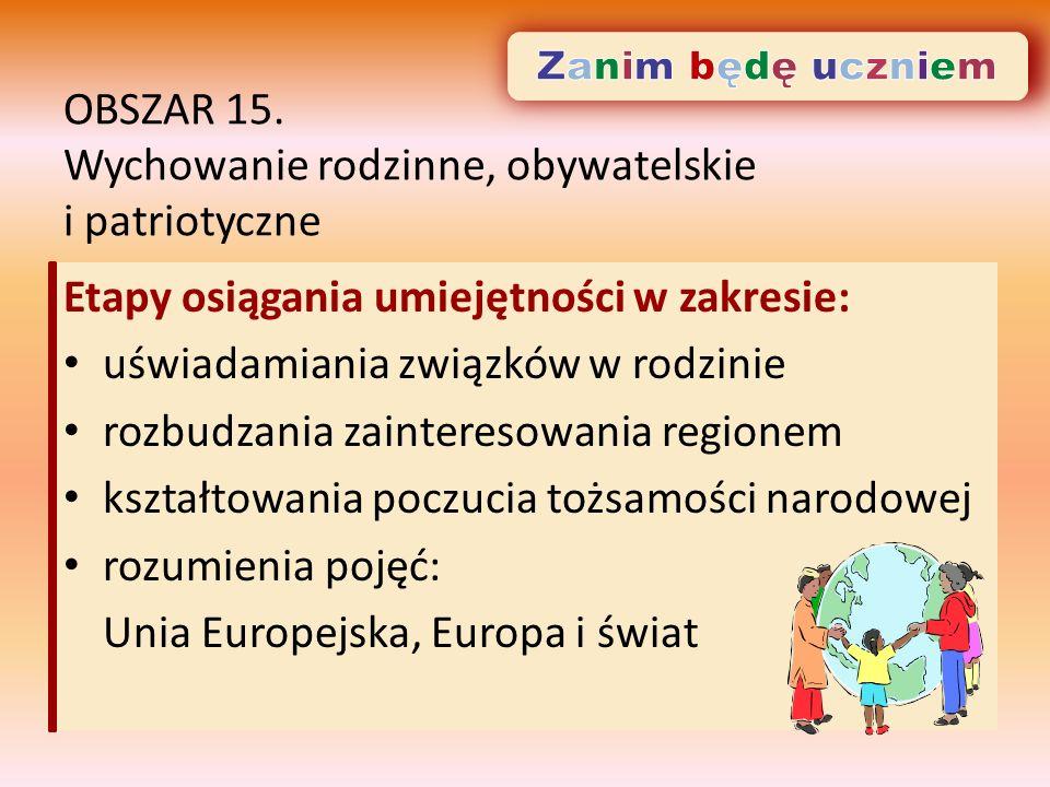 OBSZAR 15.