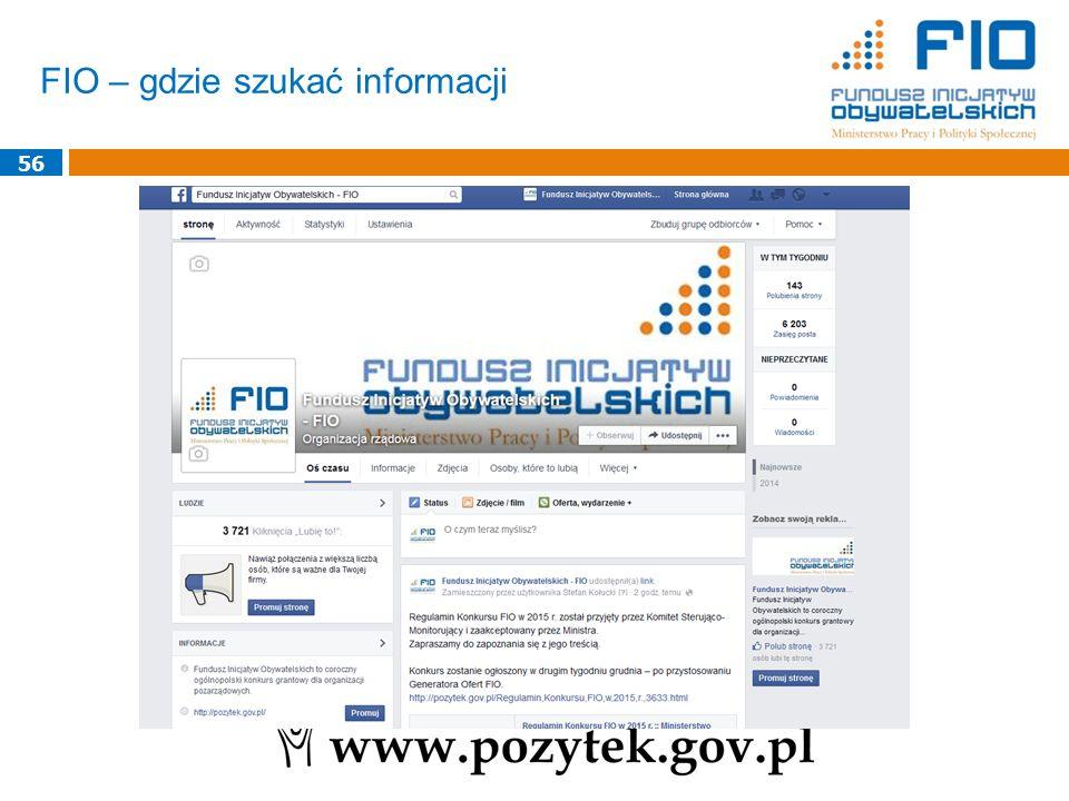 FIO – gdzie szukać informacji 56