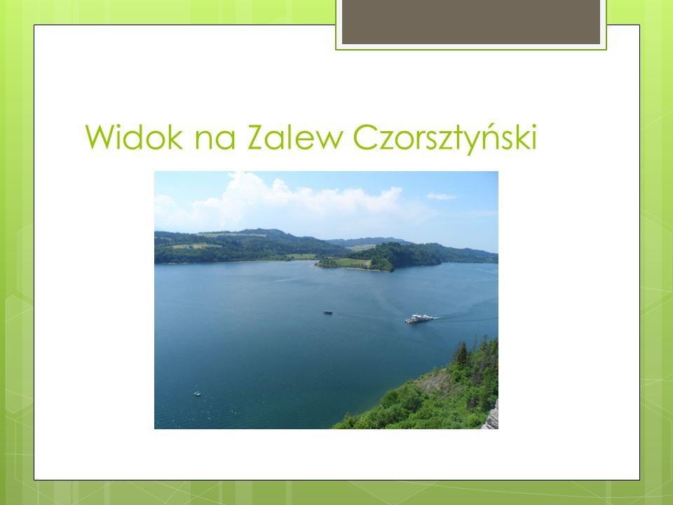 Widok na Zalew Czorsztyński