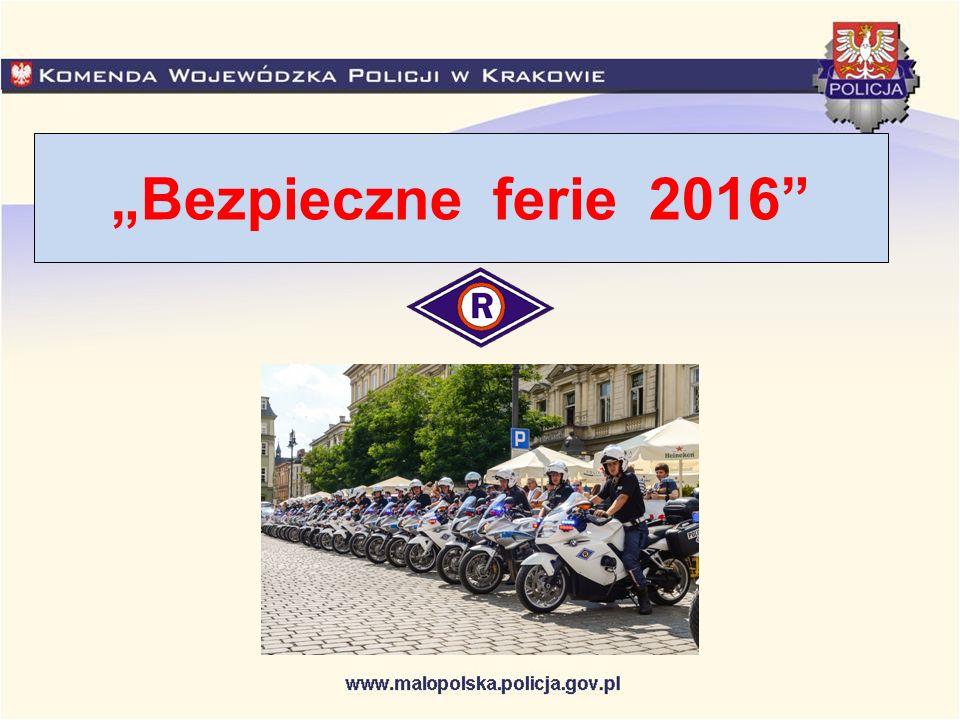 W okresie letniego wypoczynku małopolska Policja przeprowadzi wzmożone działania prewencyjne pn.