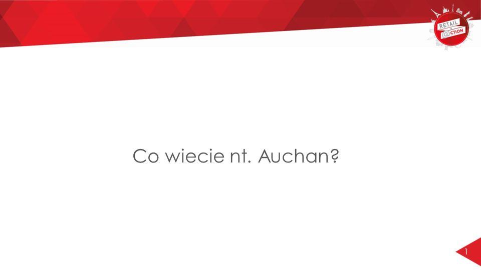1 Co wiecie nt. Auchan?