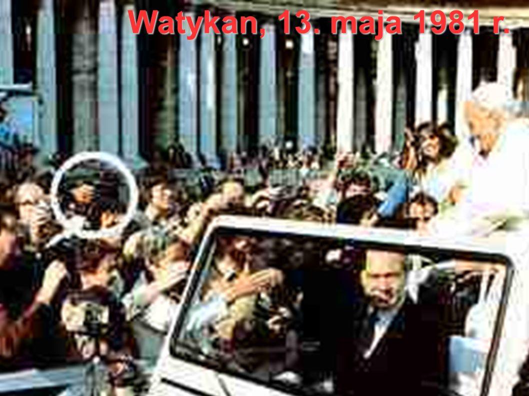 Watykan, 13. maja 1981 r.