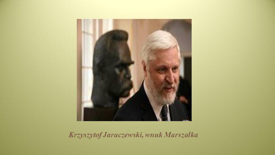 Krzyszytof Jaraczewski, wnuk Marszałka
