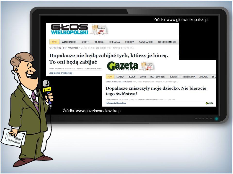 Źródło: www.gazetawroclawska.pl Źródło: www.gloswielkopolski.pl