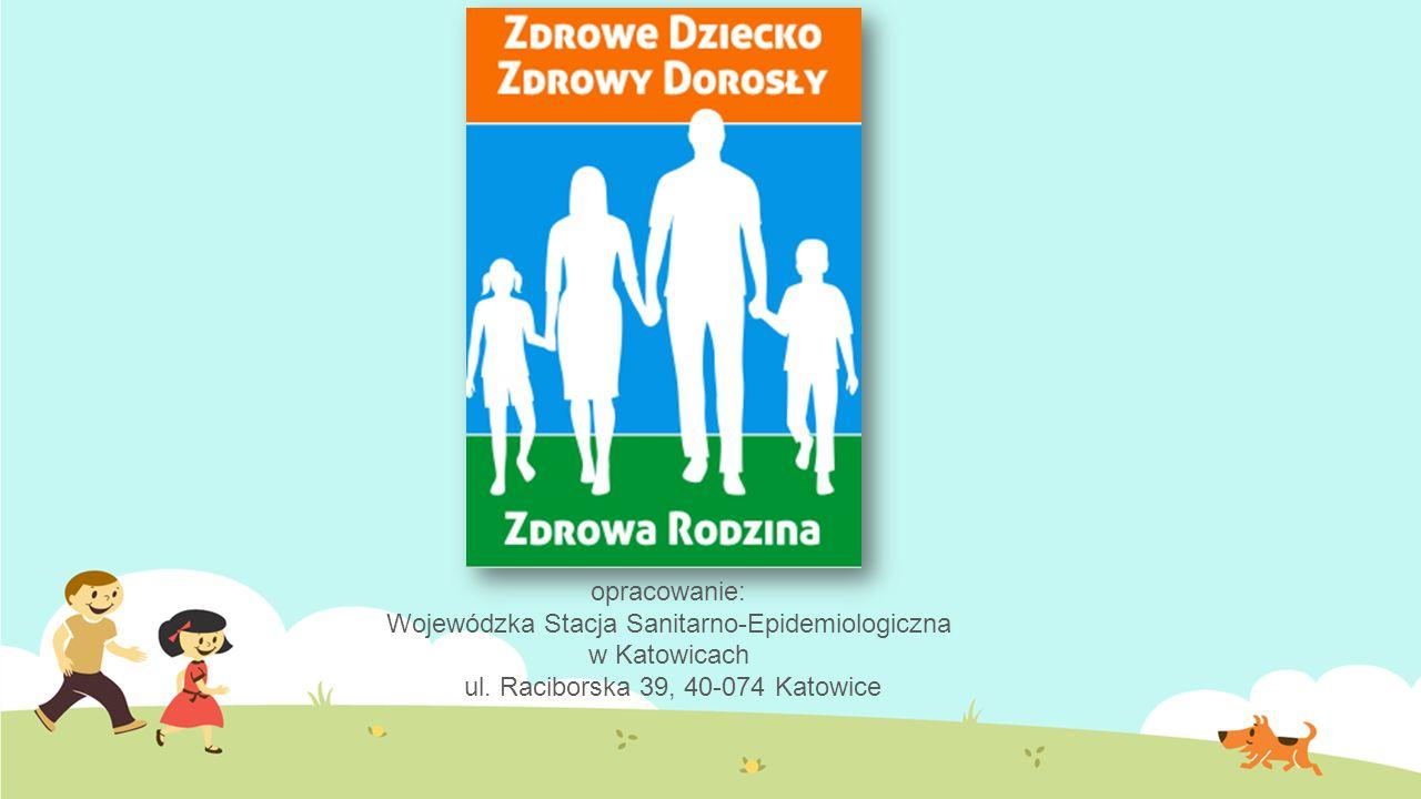 opracowanie: Wojewódzka Stacja Sanitarno-Epidemiologiczna w Katowicach ul.