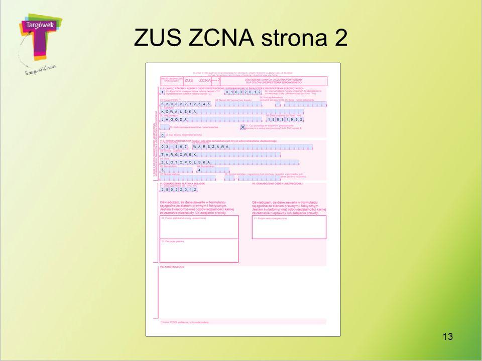 13 ZUS ZCNA strona 2