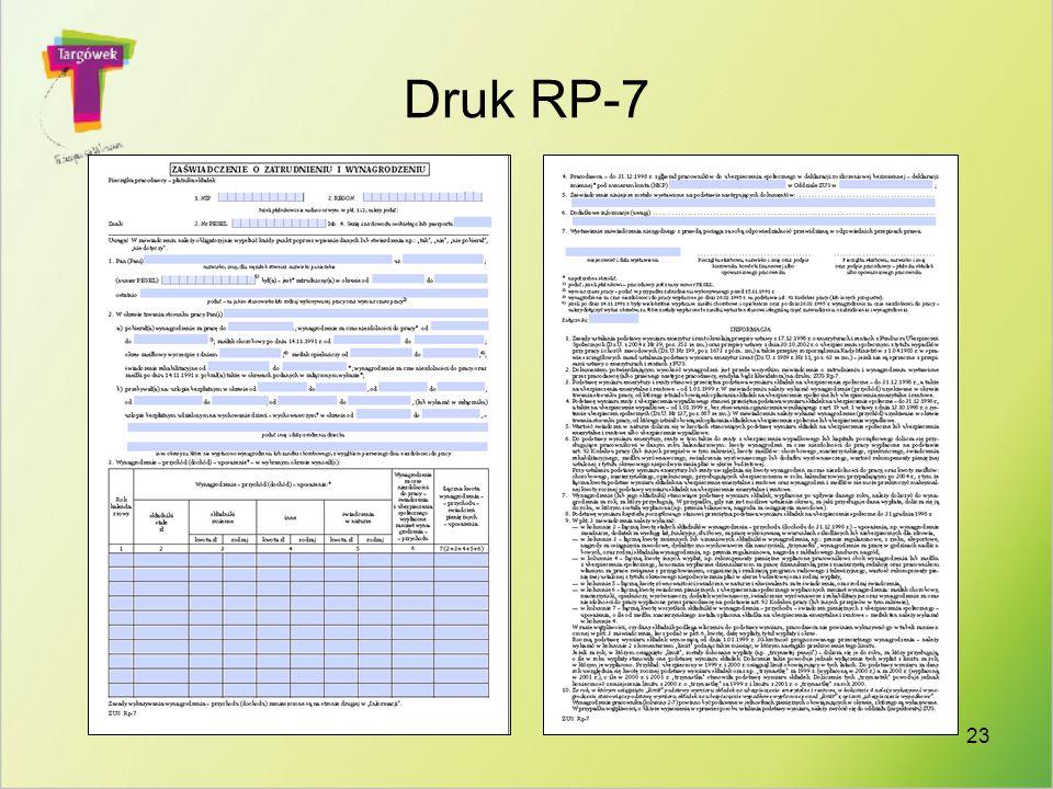 23 Druk RP-7